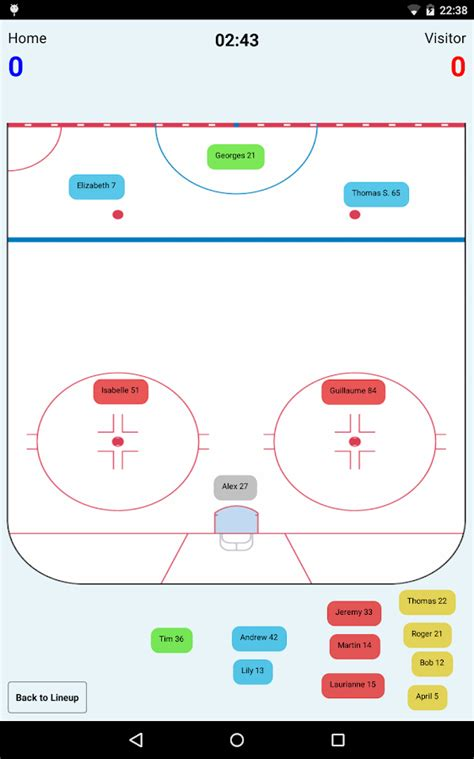 Hockey Coaches Card Template by Hockey Lineup Manager Android Apps On Play