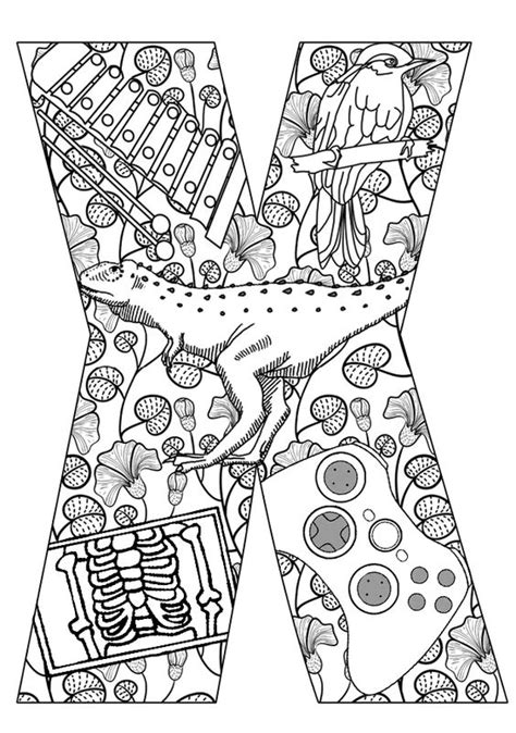 daily coloring pages alphabet daily coloring pages alphabet letters print challenging