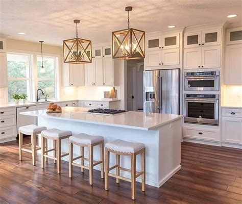 kitchen lighting island 2018 99 gorgeous kitchens with stainless steel appliances for 2018