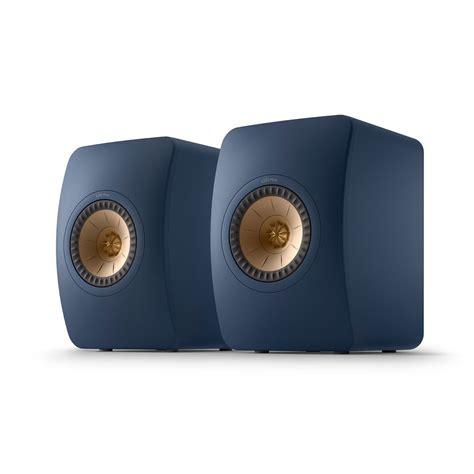 kef ls meta royal blue special edition speakers pair