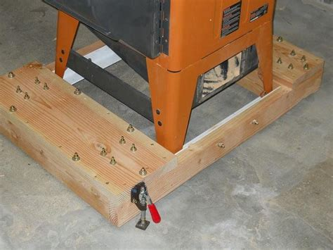 Table Saw Mobile Base by 34 Best Images About Table Saw Base On Dust