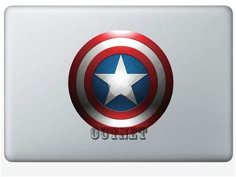 Tokomonster Decal Sticker Apple Iphone Captain America 4 Buah 1 38 curated macbook pro skins cases ideas by kresha730