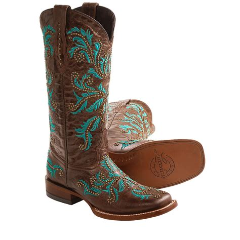 cowboy boots womans lucchese norwood calf cowboy boots leather for