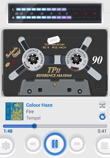 lettore di cassette audio casse o player per gli appassionati della vecchia cassetta