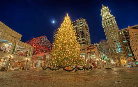 Boston Tree Lighting by Events In Boston Celebration Free