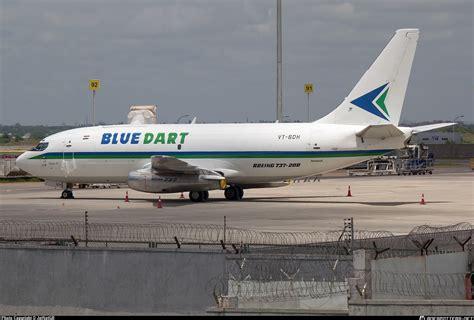 blue dart aviation boeing 737 freighter commercial jet blue dart cargo airlines aircraft
