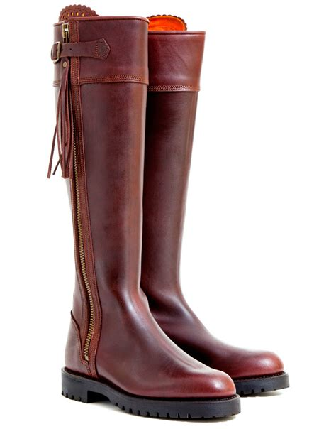 The Boots penelope chilvers s leather tassel boots