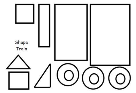 shape train pattern cuckoo for choo choos shape train construction