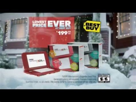 nintendo 3ds xl best price nintendo new 3ds xl lowest price ever at best buy holiday