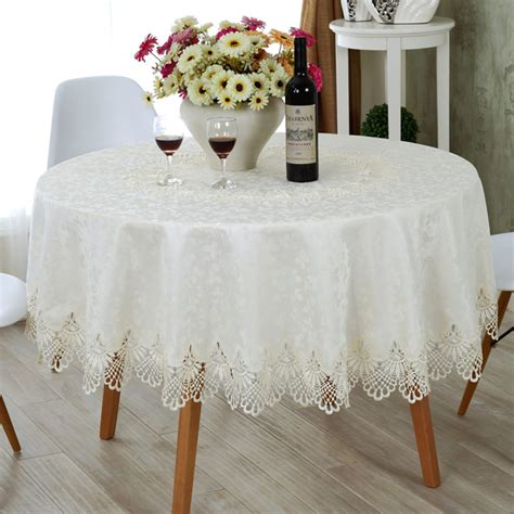embroidery design for table cloth european round tablecloth embroidery designs elegant lace