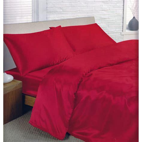 ensemble de literie en satin parure de lit et drap