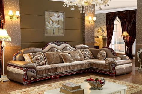 Antique Furniture Living Room Sofas For Living Room 2015 New Arriveliving Antique European Style Set Fabric Sale Low Price Jpg