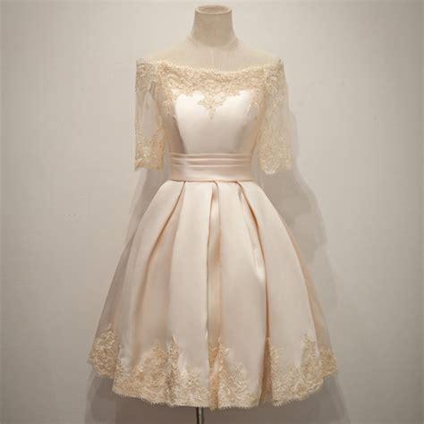 Handmade Evening Dresses - handmade satin prom dress with lace