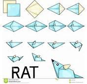 Origami Rat Stock Photo  Image 31697600