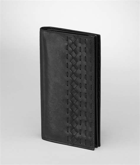 Bottega Veneta Wallet bottega veneta continental wallet in black for nero lyst