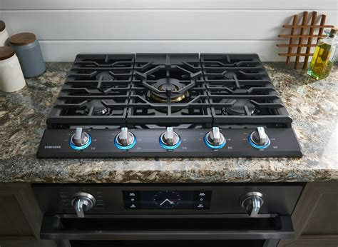 28 inch cooktop samsung na30k7750tg 30 inch gas cooktop with 5 sealed