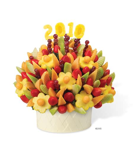 edible arrangement sweeten the holiday season with festive bouquets of fruit