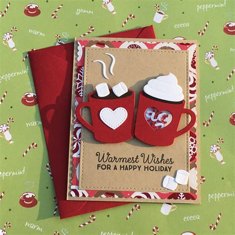 card ideas holiday hot cocoa scrapbook com pinteres