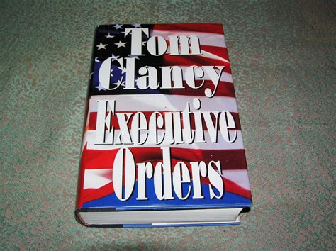 Novel Executive Orders By Tom Clancy tom clancy executive orders 1st ed country squire books