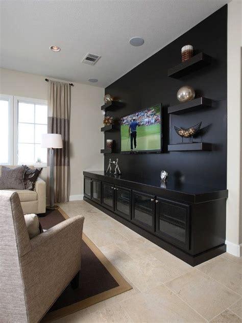living room design ideas  tv set  wall media