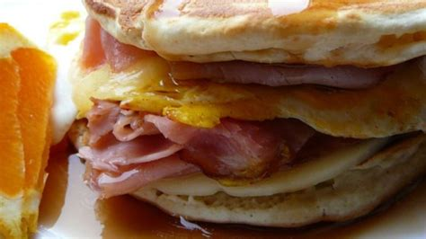 leftover pancake breakfast sandwich recipe allrecipescom