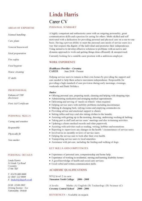 Sample Australian Resume Format - Functional Resume Example