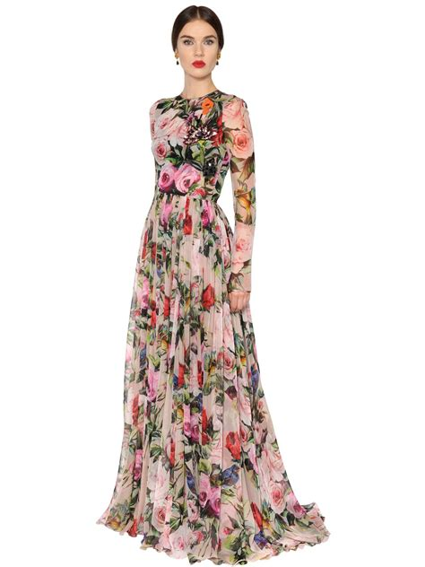 Maxi Dg dolce and gabbana floral dresses www imgkid the