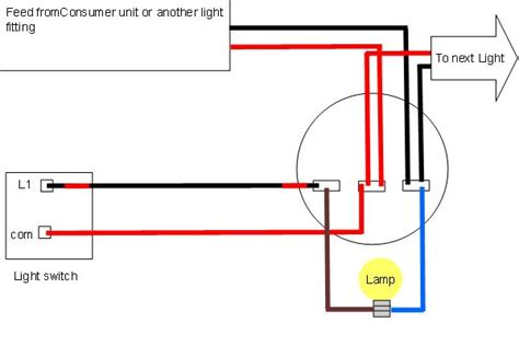 Ceiling Light Without Electrical Wiring by Light Wiring Diagrams Light Fitting