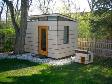 modern dog house modern shed meets modern dog house dog milk