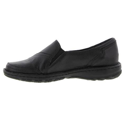 Murah Adidas Slip On Made In 03 earth spirit delaware womens black leather slip on shoes size uk 4 9 ebay