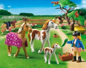 country chevaux et enclos playmobil le centre 233 questre