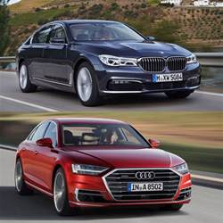 Audi A8 Vs Bmw 750 Photo Comparison 2018 Audi A8 Vs Bmw 7 Series
