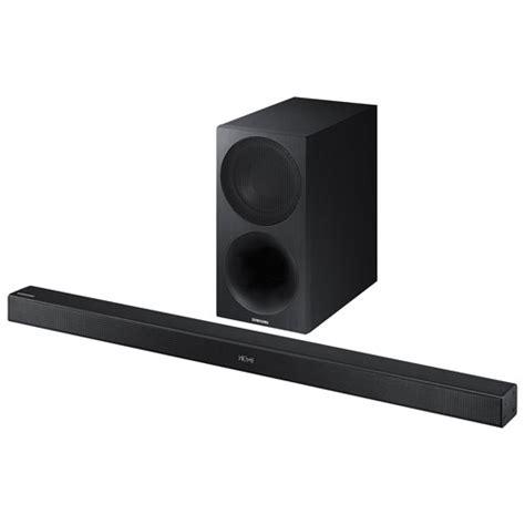 best 2 1 sound bar samsung hw m450 320 watt 2 1 channel sound bar with