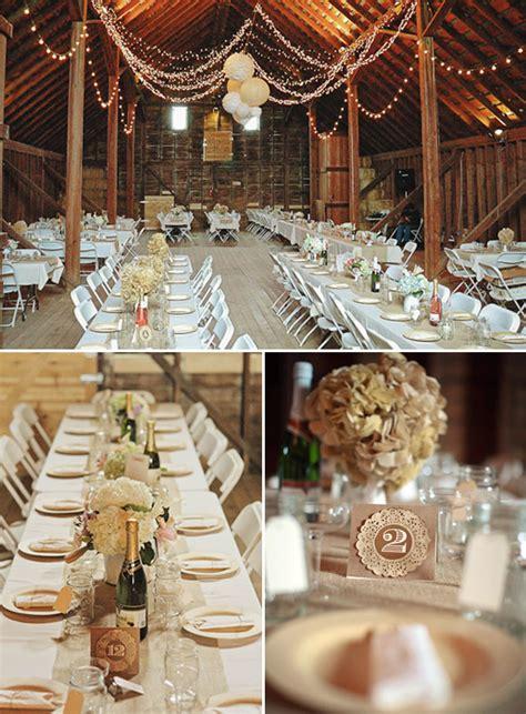 wedding table rustic decorating ideas an oregon barn yard wedding