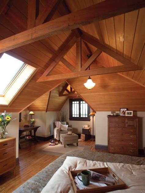 garret room cool attic spaces and ideas