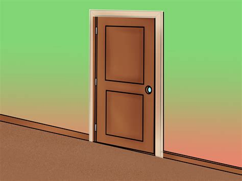 How To Hang An Exterior Door How To Install An Exterior Door 14 Steps With Pictures
