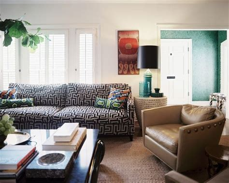 Patterned Sofas by Sofas That Sing Chic Prints And Patterns On Your