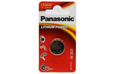 Baterai Panasonic Cr2032 panasonic cr2032 lithium 3v battery panasonic store
