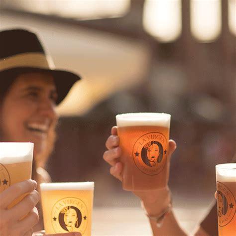 beer cerveza gif  cervezas la virgen find share  giphy