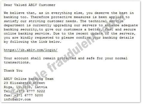 Snopes Bank Letter 86 Year Ablv Bank Phishing