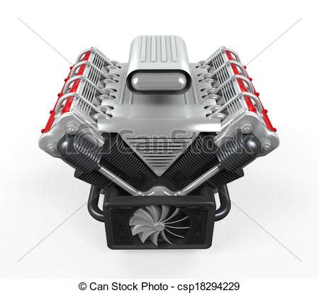 car with v8 engine car free engine image for user manual download v8 car engine isolated on white background 3d render clip art search illustration drawings