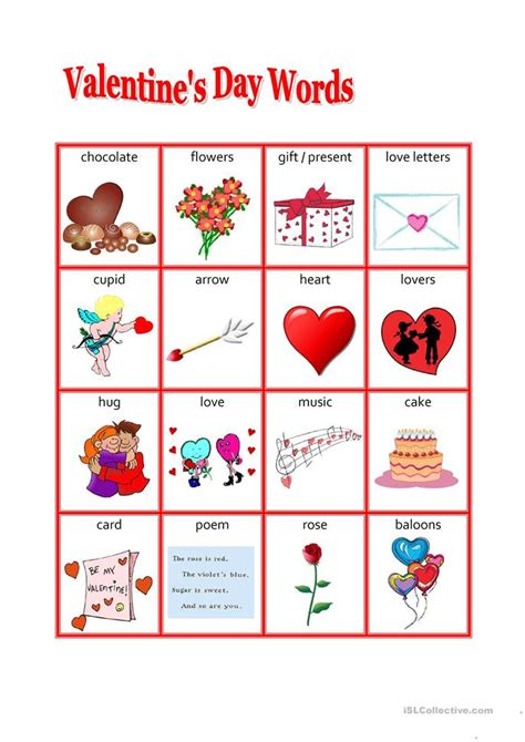 s day words worksheet free esl printable