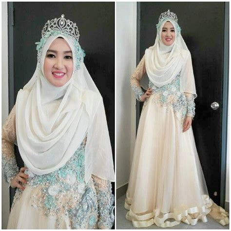 Baju Pengantin Wedding Dress Clwd164 30 best baju pengantin images on muslim wedding dresses and muslimah