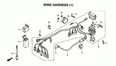 2000 honda trx 350 wiring diagram 2000 yamaha warrior 350