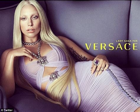 is that you donatella lady gaga recreates the fashion