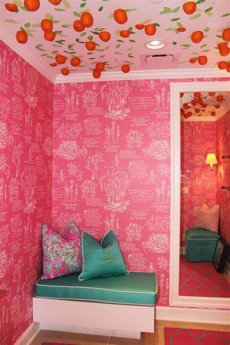 lilly pulitzer bedroom wallpaper lilly pulitzer room wallpaper wallpapersafari