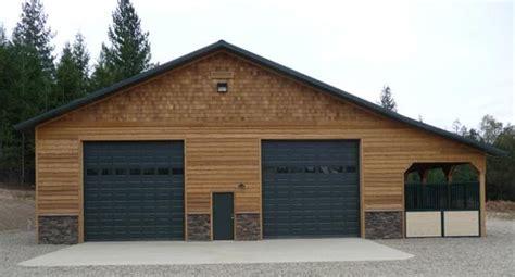 92 40x60 Pole Barn Interior Pole Barn House Interior Shop Garage Door