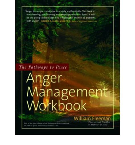 anger management prevention understanding resolution books the pathways to peace anger management workbook the