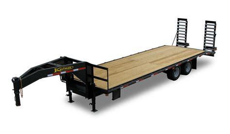 light duty gooseneck trailer standard 22500 gvwr 30 ft tandem dual gooseneck trailer by
