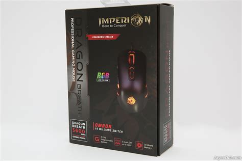Imperion Breath S600 Profesional Gaming Mouse Dpt Cd Makro imperion breath s600 gaming mouse review jayceooi